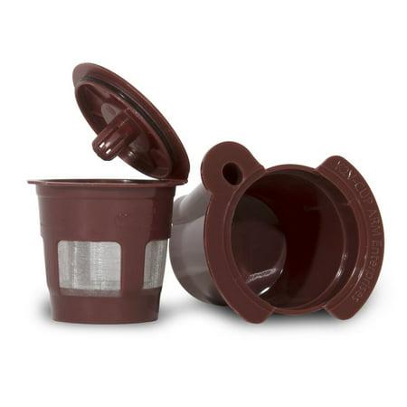 K2V-Cup Adapter & Reusable, Refillable Coffee Pod Capsule for Keurig VUE Single-Serve Coffee Machines (Keurig 400 Coffee Maker)