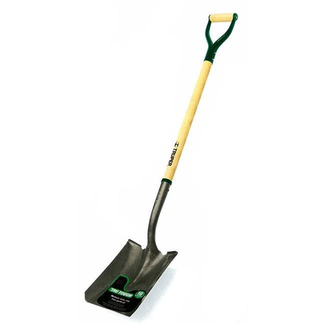 TRUPER TOOLS P Tru Tough Abs Scoop Shovel Abs//Wood 29 INCH