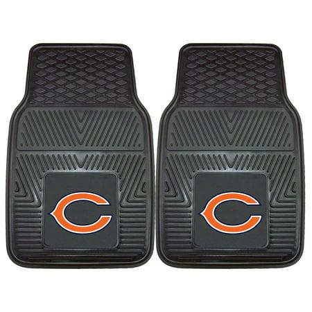 Chicago Bears 2-pc Vinyl Car Mats 17