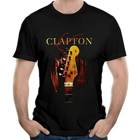 Eric Clapton Classic Guitar T-Shirt (Martin 000 28m Eric Clapton Acoustic Guitar)