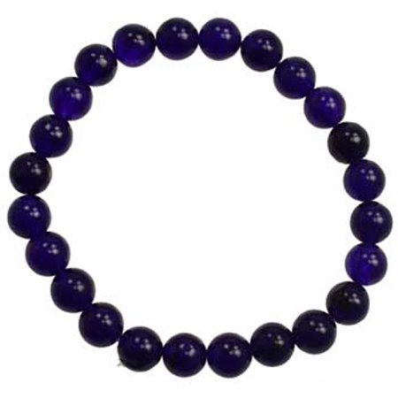 Womens Jewelry Bracelet Purple Jade Beads Aid Meditation Contact Your Subconscious Mind Psychic Work