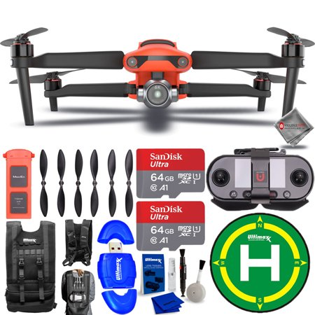 Autel Robotics EVO II PRO 6K Drone 600002002 + 128GB + Landing Pad Bundle
