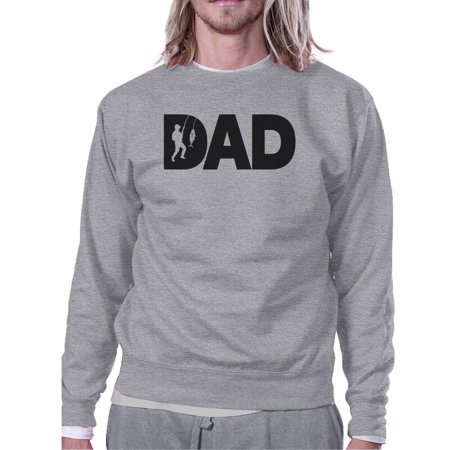 Dad Fish Unique Design Sweatshirt Birthday Gifts For Fishing Dads