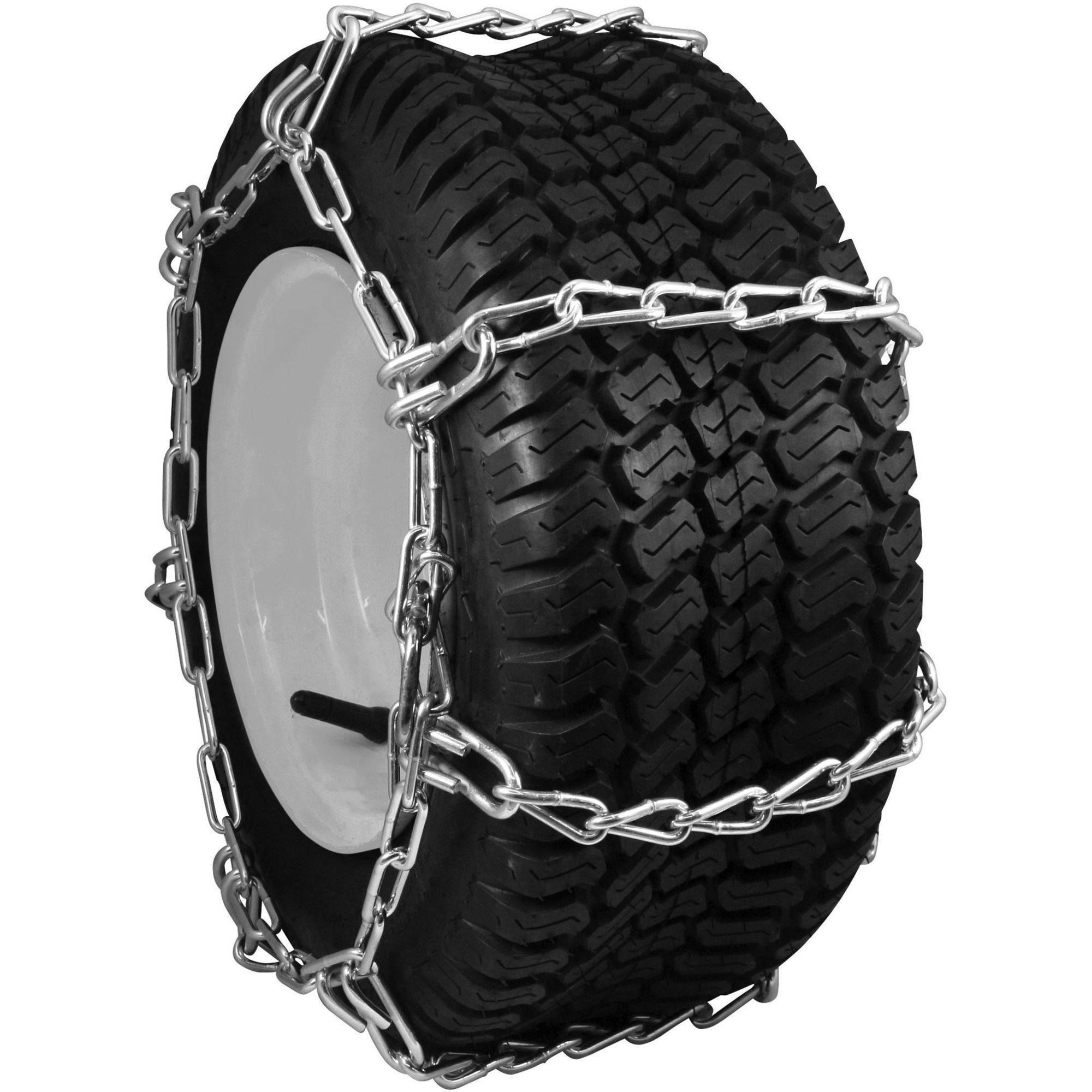 Snower And Lawn Tractor Tire Chains 20x8 00x8 4 Link Ing