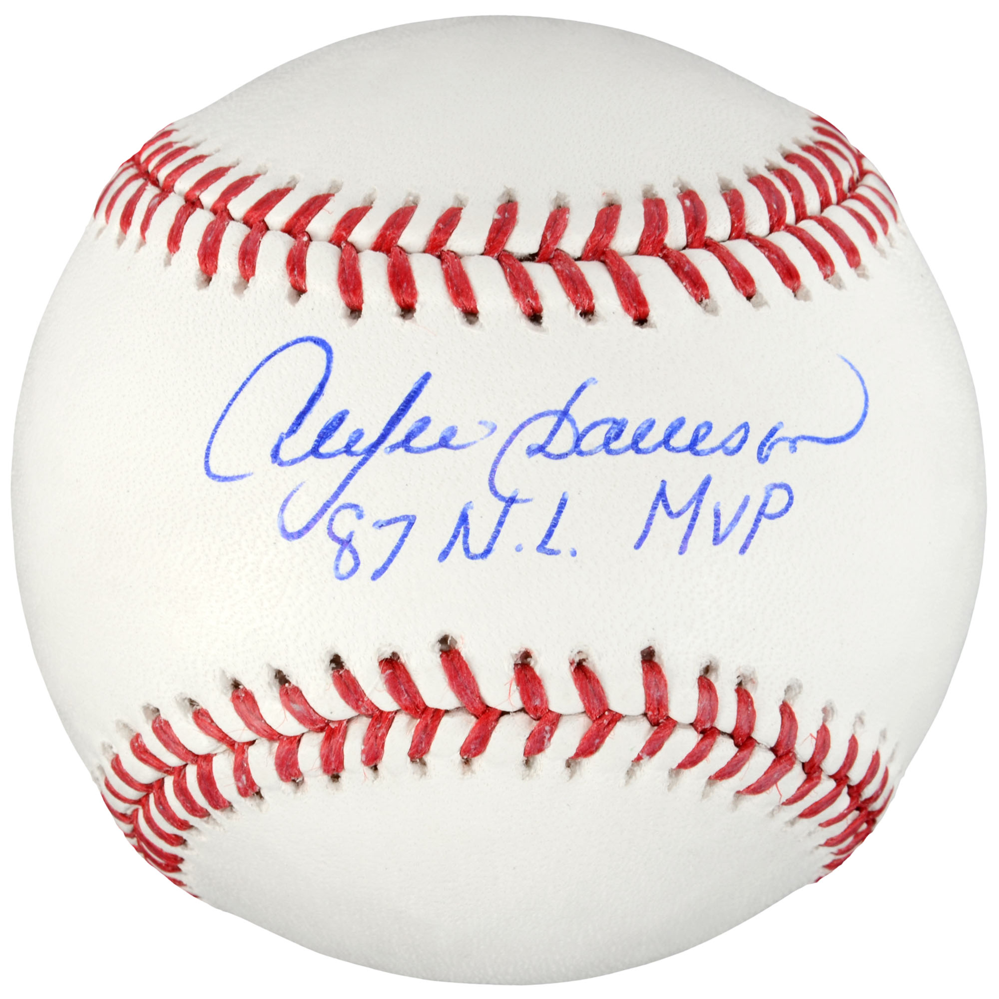Andre Dawson Chicago Cubs Fanatics Authentic Autographed Baseball with 87 NL MVP Inscription - No Size