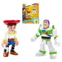 Buzz Lightyear & Jessie Toy Story Imaginext Figures 2.5""
