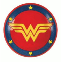 Rubie's Glitter Wonder Woman's Shield Halloween Accessory