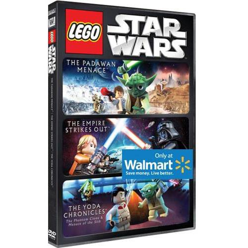Lego Star Wars: The Padawan Menace / The Empire Strikes Out / The Yoda Chronicles (Walmart Exclusive) (DVD)