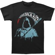 Comeback Kid Men's  Galaxy Reaper T-shirt Black