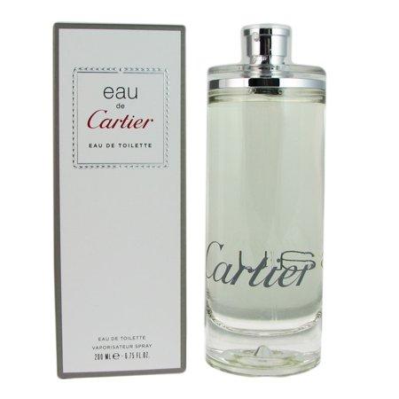 Cartier Eau de Cartier EDT Spray, 6.75 oz