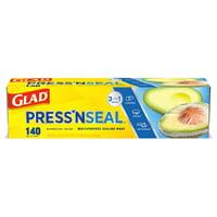 Glad Press'N Seal Food Plastic Wrap - 140 Square Foot Roll