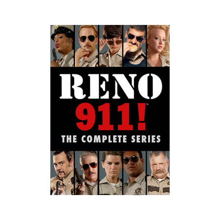Reno 911: The Complete Series (DVD)