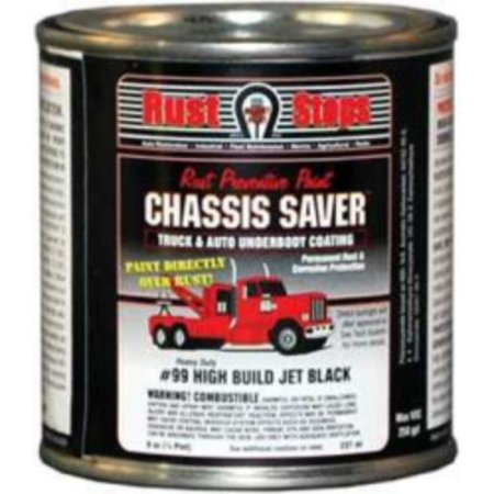 Magnet Paint & Shellac UCP99-16 Chassis Saver Paint, Stops And Prevents Rust, Gloss Black, 8 Oz (Car Paint Cans)