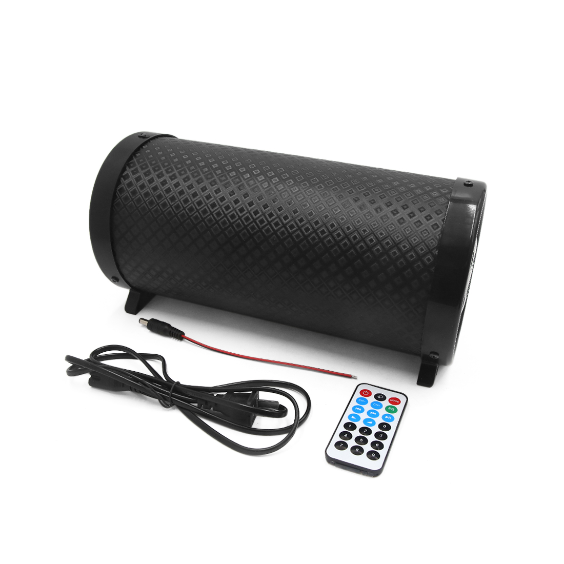 """5"""" Univerdsal Cylinder Shaped Stereo Audio Bass Subwoofer for Car Motorcycle"""