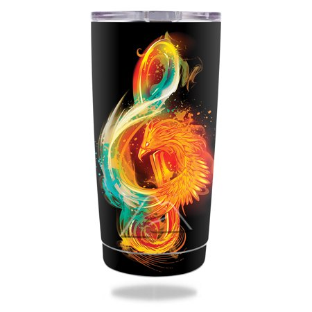 MightySkins Skin Compatible With Ozark Trail 20 oz Tumbler (2016) - Abstract Horizon | Protective, Durable, and Unique Vinyl wrap cover | Easy To Apply, Remove, and Change Styles | Made in the USA