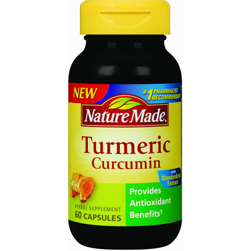 Nature Made Turmeric Curcumin Herbal Supplement Capsules, 60 count