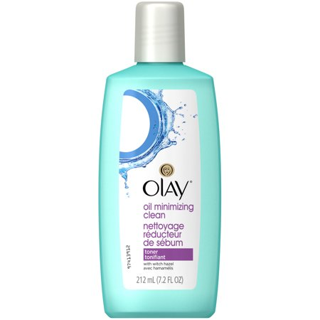 (2 pack) Olay Oil Minimizing Clean Face Toner, 212 mL, 7.2
