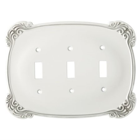 Brainerd 144402 Arboresque Triple Switch Wall Plate / Switch Plate / Cover