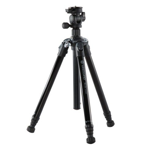 Vanguard USA Nivelo 245BK Black, Aluminum Tripod w/ Quick Attach Camera Screw