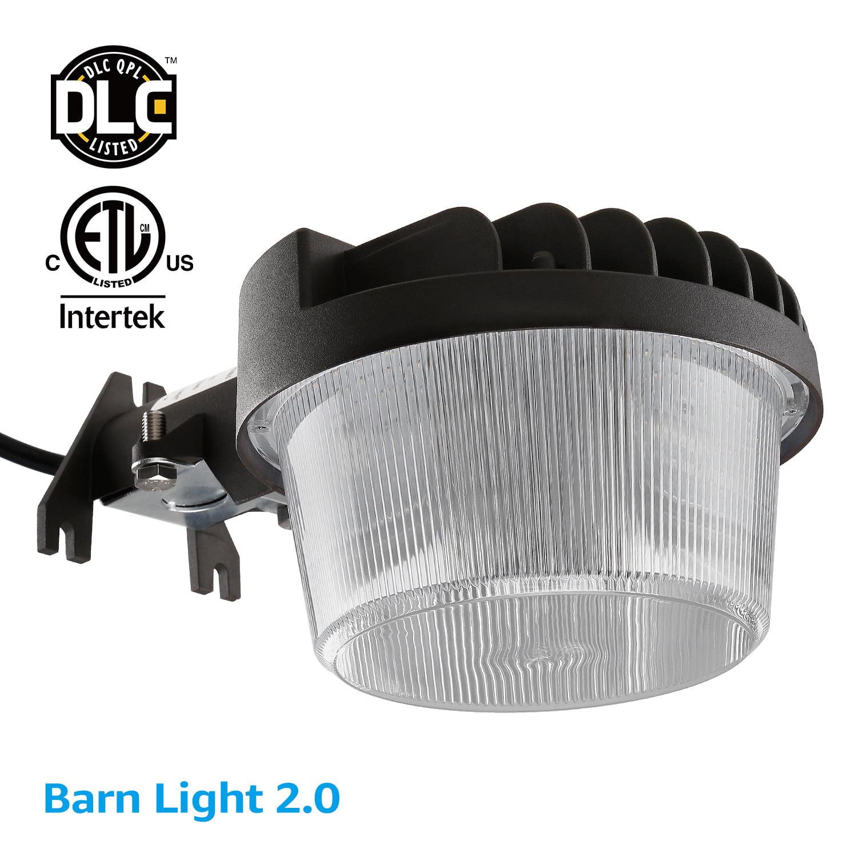 TORCHSTAR 40W Dusk-to-dawn LED Outdoor Barn Light, LED Security Light, 5000K Daylight