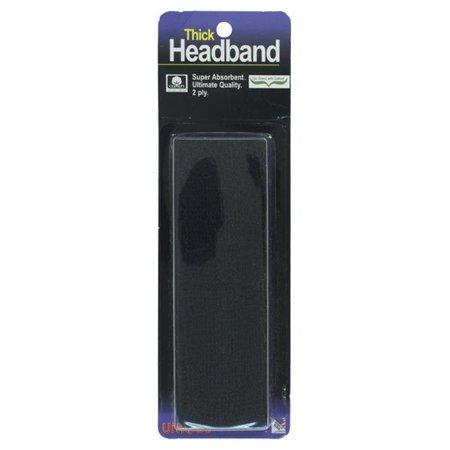 Thick Headband Black