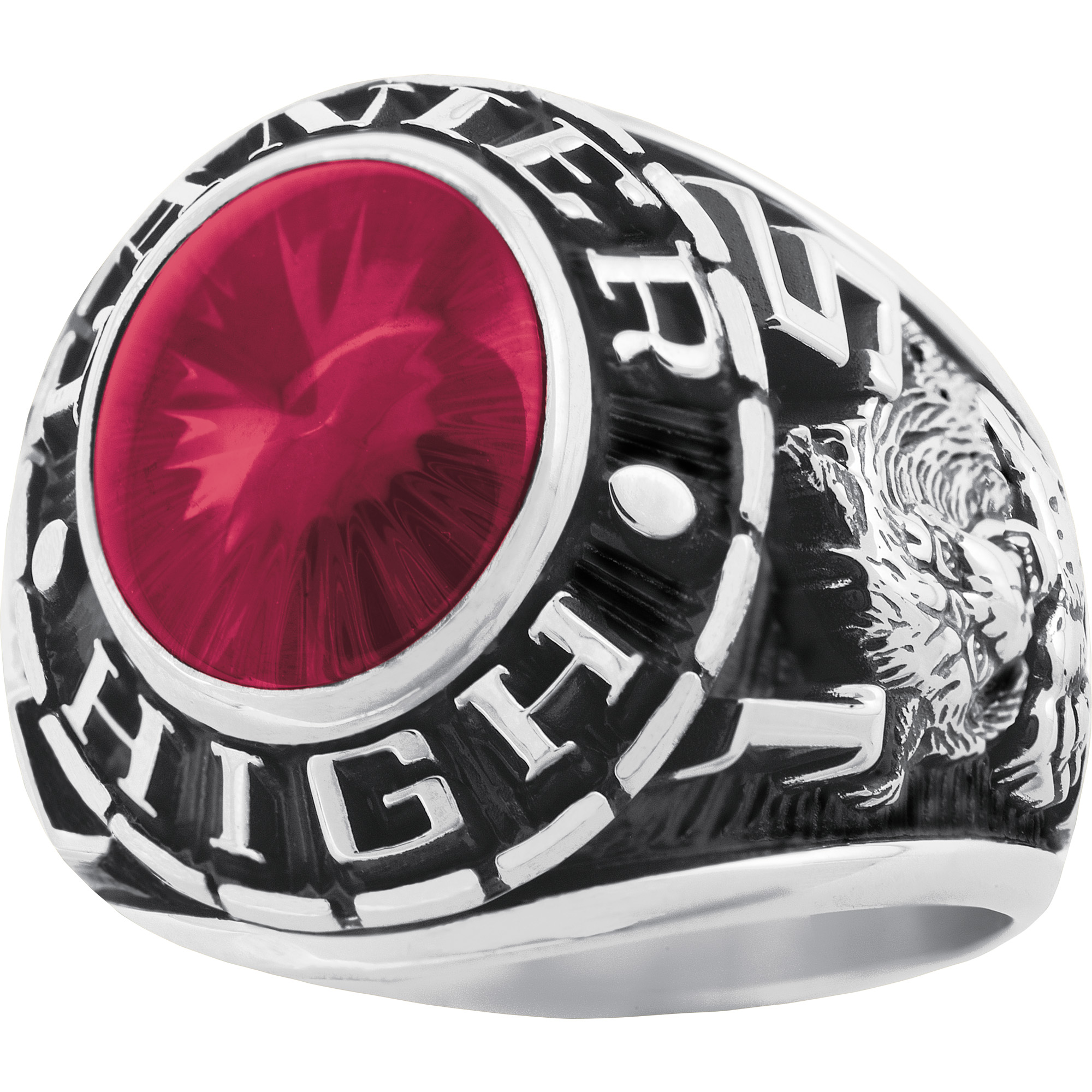 Keepsake Men's Classic Oval Class Ring