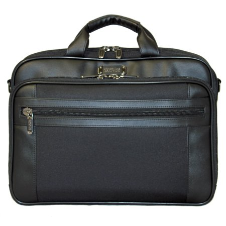 R-Tech Laptop Computer Briefcase - Black
