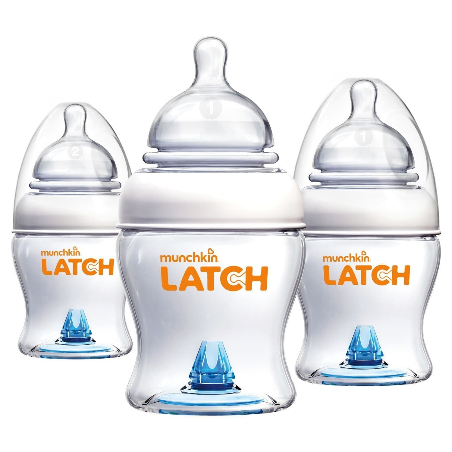 Munchkin Latch 4 oz Bottle BPA Free, 3 ct