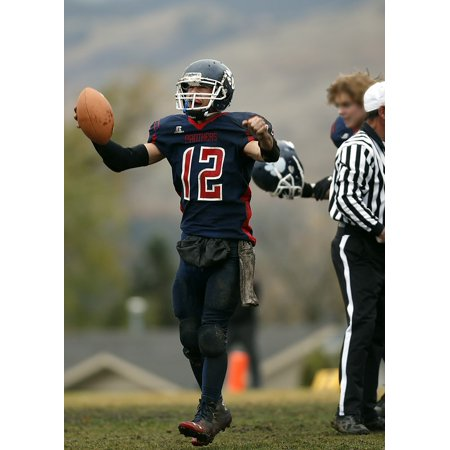 canvas print football american football football player stretched canvas 10 x 14](Football Player Cutouts)