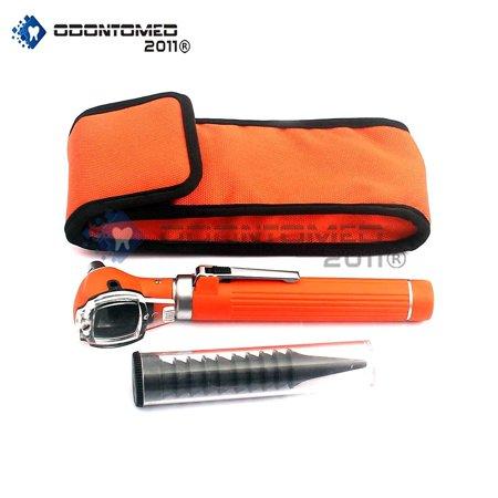 Odontomed2011® Led Pocket Otoscope Set Orange Color Odm