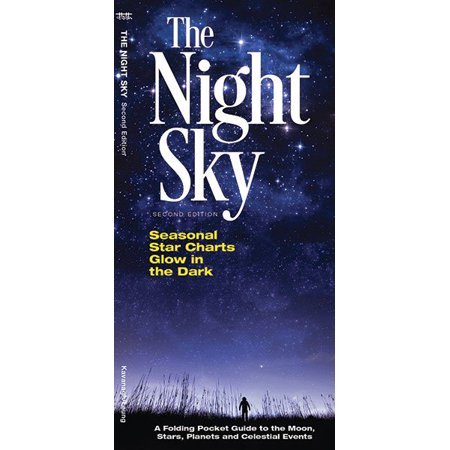 - The Night Sky : A Folding Pocket Guide to the Moon, Stars, Planets & Celestial Events