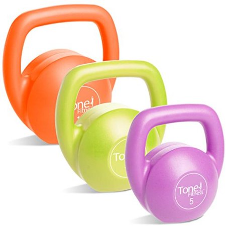 Tone Fitness 30-LB Kettlebell Body Trainer Set with