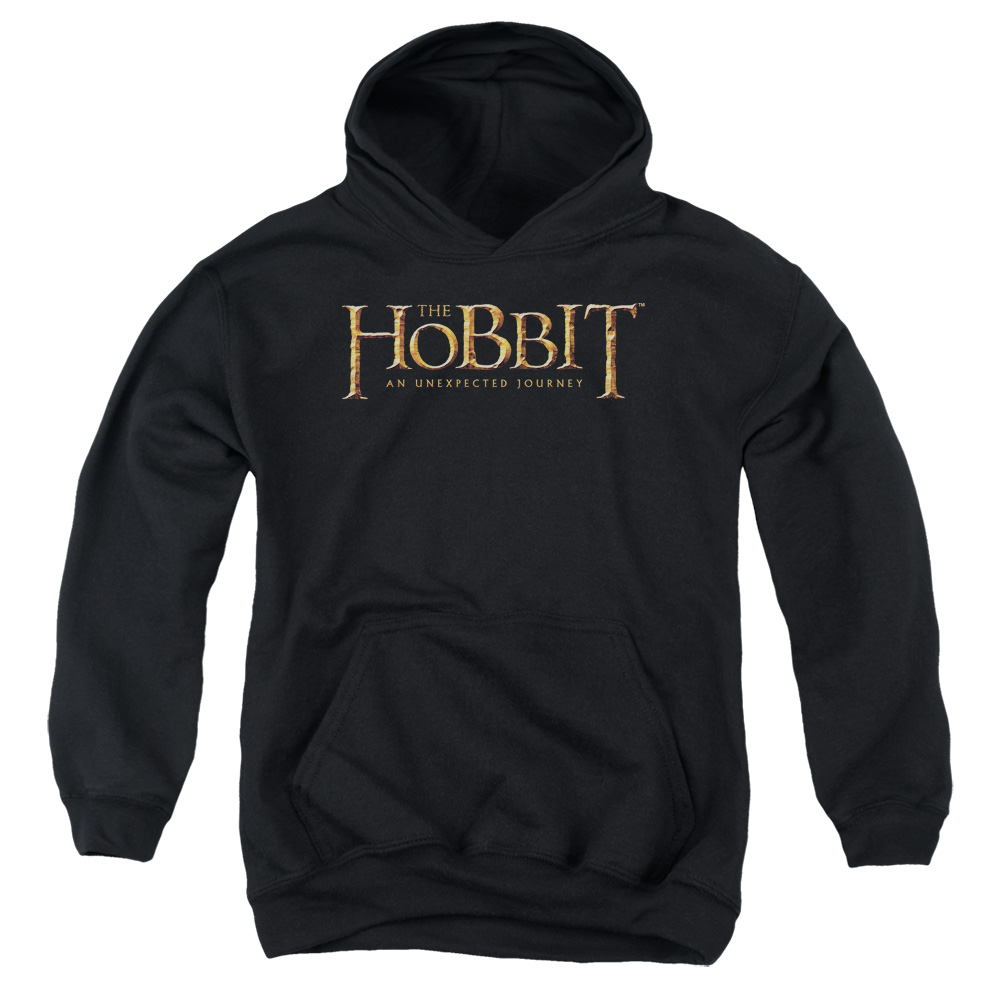 The Hobbit Logo Big Boys Pullover Hoodie