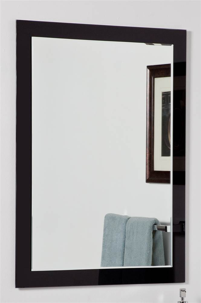 Aris Modern Bathroom Mirror by Decor Wonderland of US