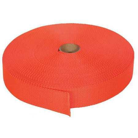 BULK-STRAP N01102OR Bulk Strap Webbing,102 ft x 1 In,3800 lb