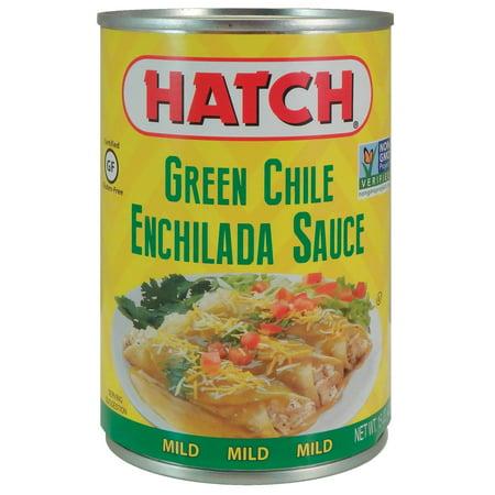 (3 Pack) Hatch Green Enchilada Sauce, Mild, 15