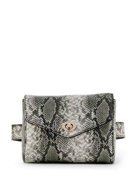 Metallic Sky Belt Bag
