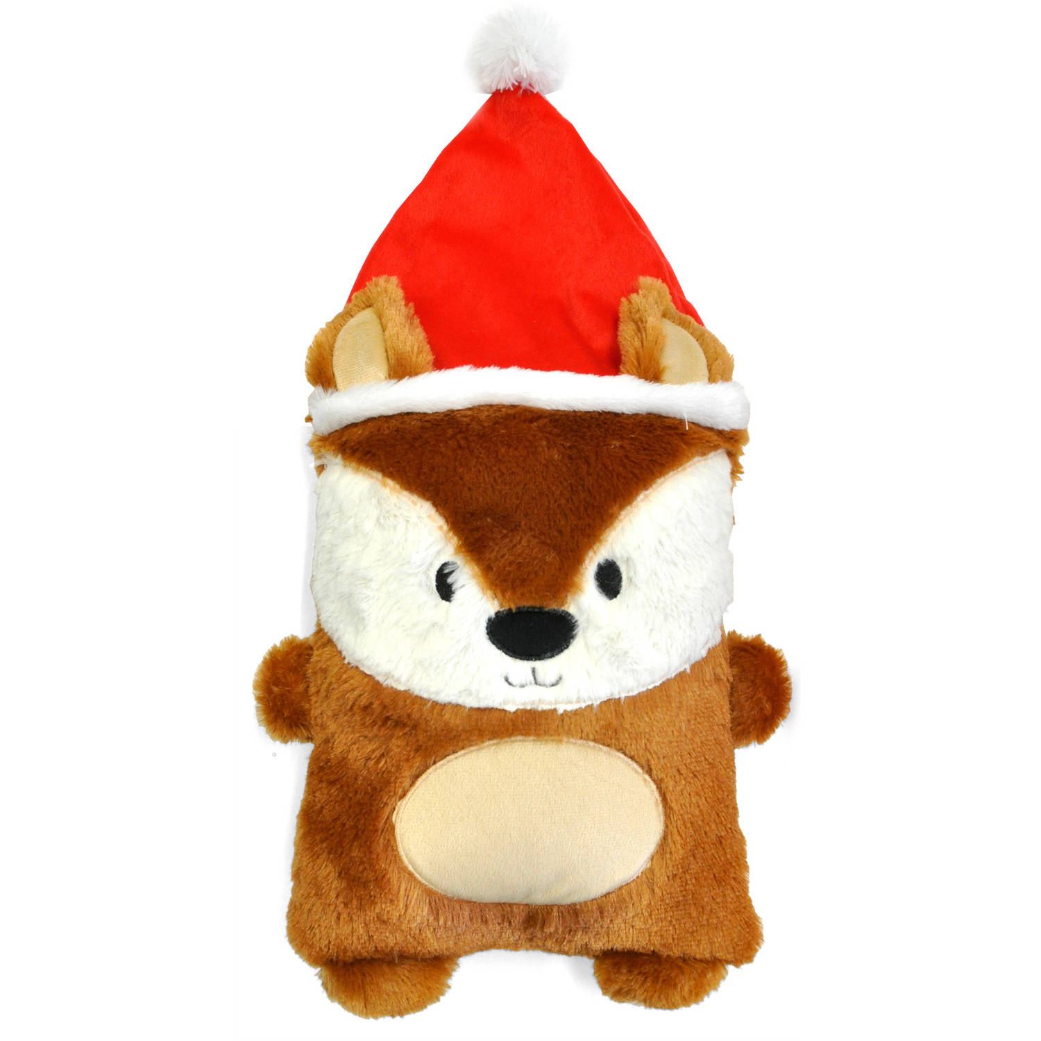 Cuddly Crew Holiday Pillow, Fox by