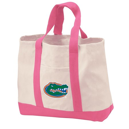 University of Florida Tote Bag CANVAS University of Florida Tote Bags for TRAVEL BEACH SHOPPING