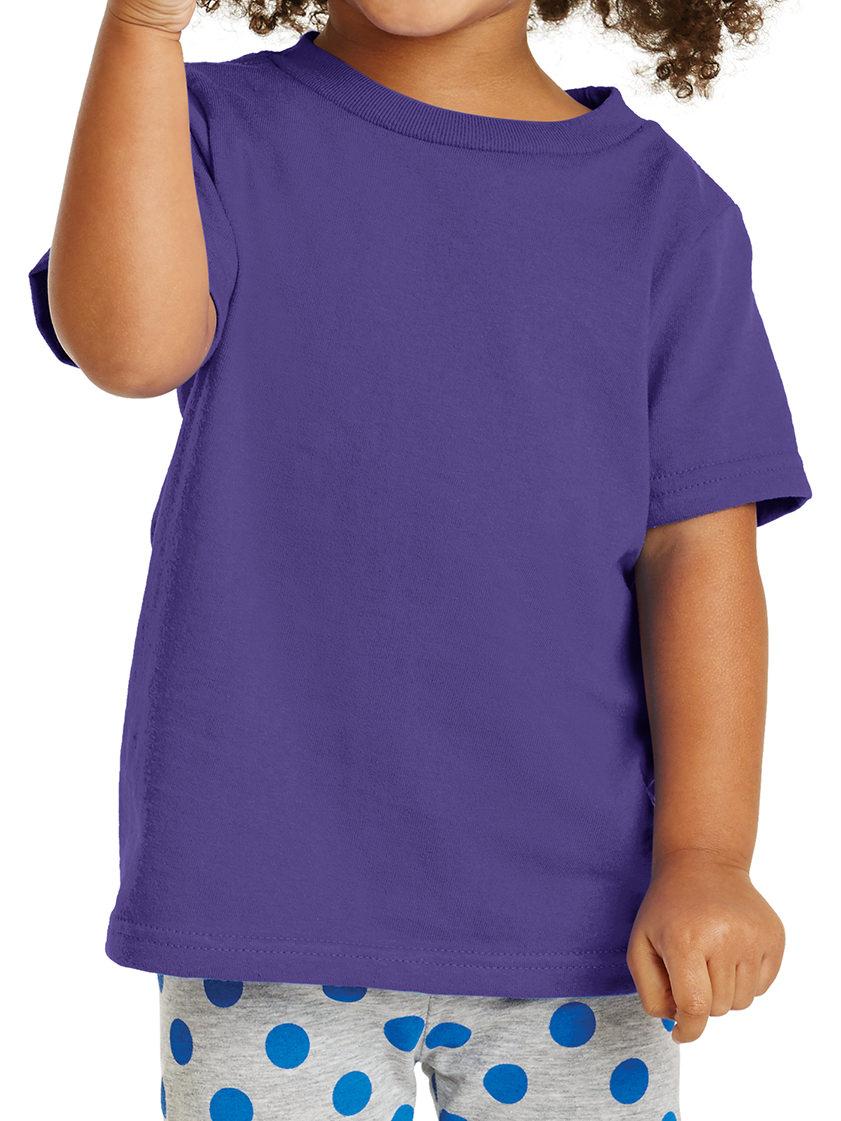 Mafoose Toddler Core Cotton Tee Aquatic Blue 2T