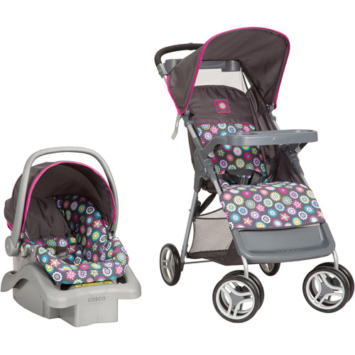 Cosco Lift & Stroll Travel System, Bloom