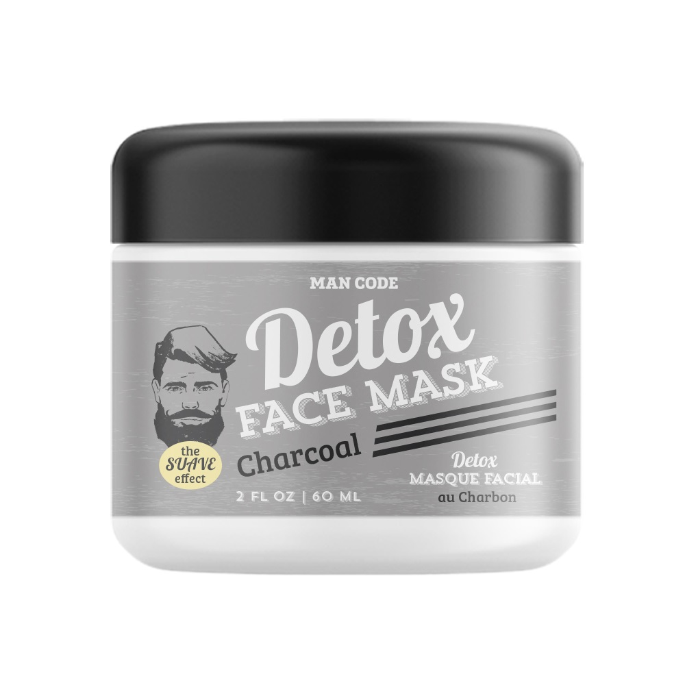 Man Code Charcoal Detox Face Mask for all Skin Types 2oz / 60ml Darphin - Ideal Resource Micro-Refining Smoothing Fluid - 50ml/1.7oz