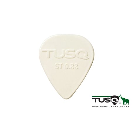 Genuine TUSQ Guitar Picks 0.88 mm Bright tone - 6 pieces PQP-0088-W6 NEW! (Guitar Pick Usa)