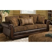 Traditional Sofa in Brown