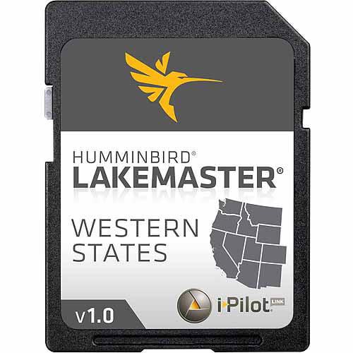 Humminbird LakeMaster Western States Digital Chart (WA/OR/CA/NV/AZ/NM/CO/WY/MT/UT/ID)