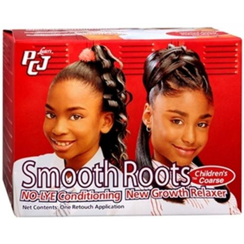 Luster's PCJ Smooth Roots No-Lye Conditioning New Growth Relaxer, Children's Coarse 1 ea (Pack of 3)