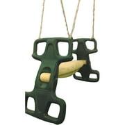 Flexible Flyer Dark Hunter Green Rocket Rider Tandem Swing Assembly