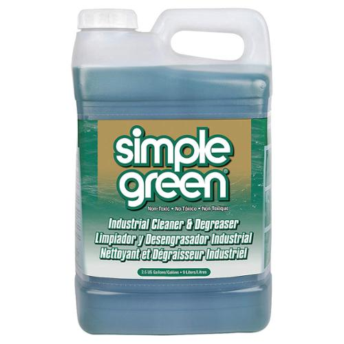 SIMPLE GREEN Non-Solvent Cleaner/Degreaser,  2.50 gal. Jug 2710000213225