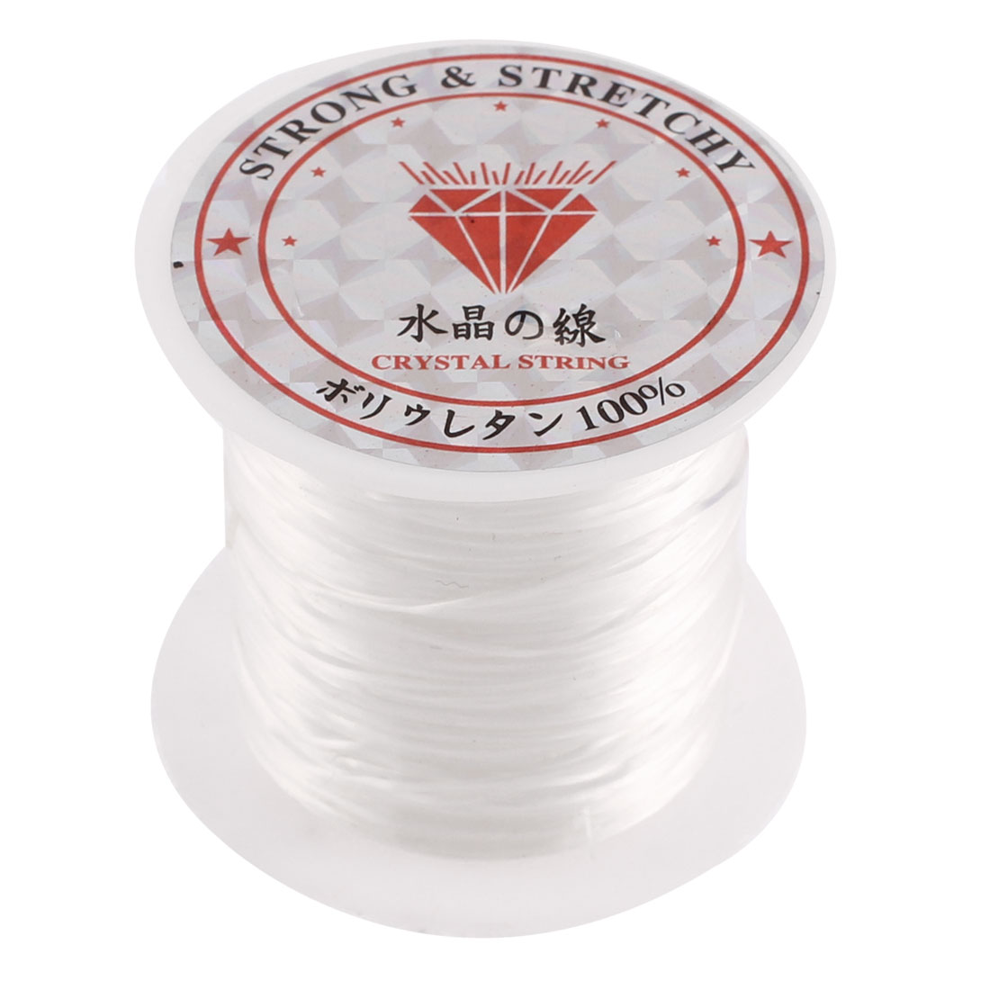 Stretchy Elastic Bracelet Making Beading Thread Cord Clear 10M Length