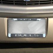 South Florida Bulls Carbon Fiber Team License Plate Frame